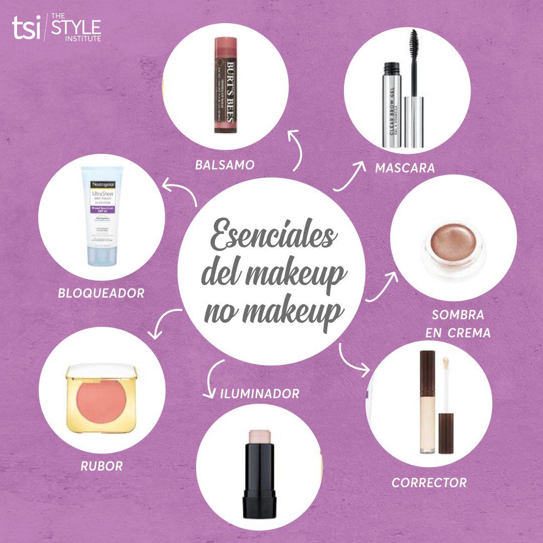 Esenciales del makeup no makeup