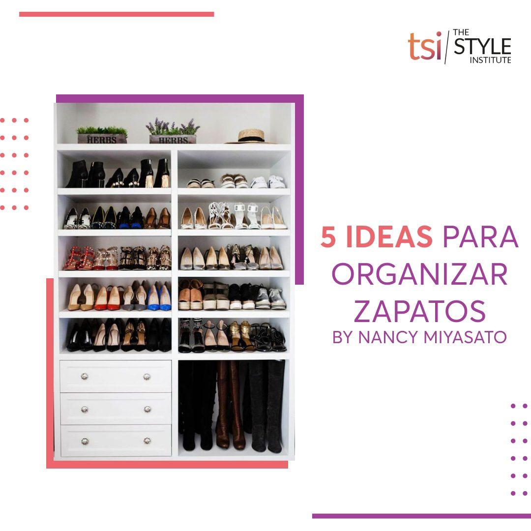 5 ideas para organizar zapatos